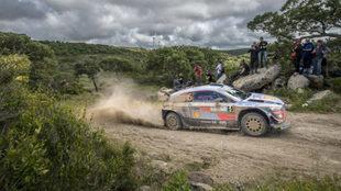 El belga está alcanzando su mejor versión con el i20 Coupé WRC