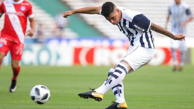Lucas Olaza tuvo una gran temporada en Talleres