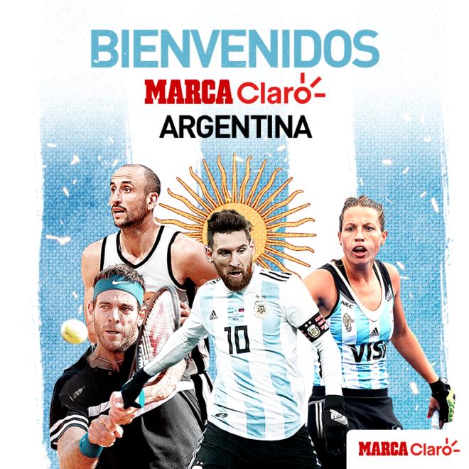 sd Lo + trending m MARCA Claro arranca en Argentina
