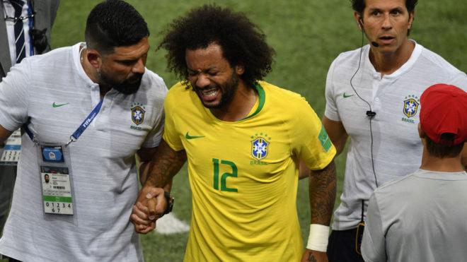La terrible forma como Marcelo se lesionó y se quedó sin Mundial
