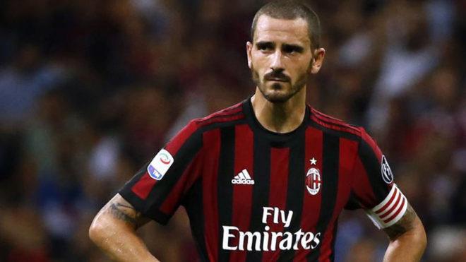 Bonucci, uno de los refuerzos del Milan.