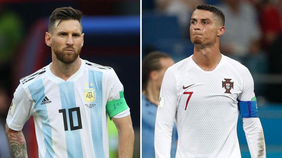Messi y Cristiano, un pronto adiós en el Mundial