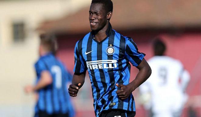 Zé Turbo en las inferiores del Inter de Milan.