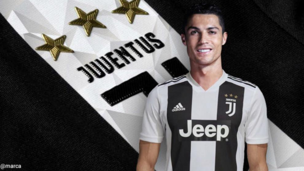 Cristiano Ronaldo, nuevo jugador de la Juventus.