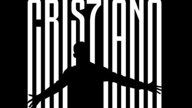 El afiche de la presentación de Cristiano.