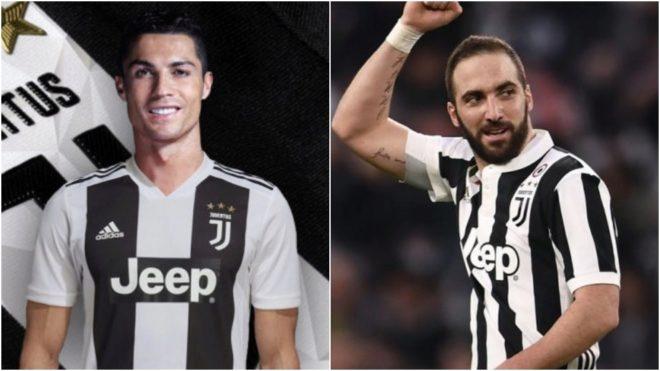Cristiano Ronaldo e Higuaín, ¿compartirán equipo en Italia?