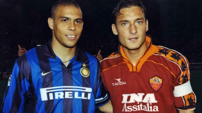 """Totti: """"Me arrepiento de no haber jugado con 'El Fenomeno' Ronaldo ..."""