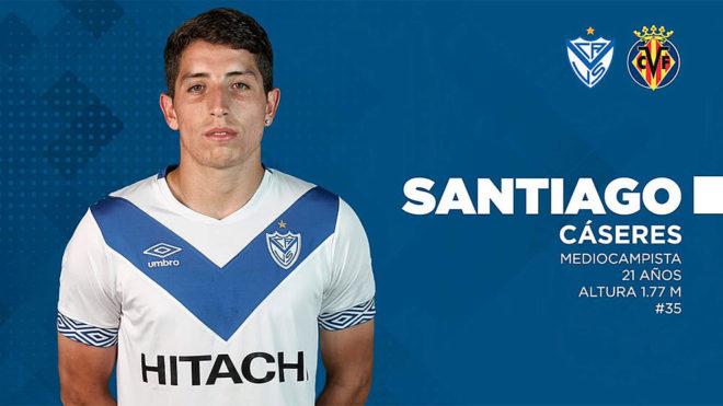 Santiago Cáseres tiene todo listo para jugar en el Villareal