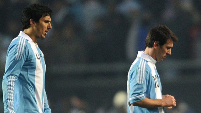 Nicolás Burdisso y su cruce con Messi: