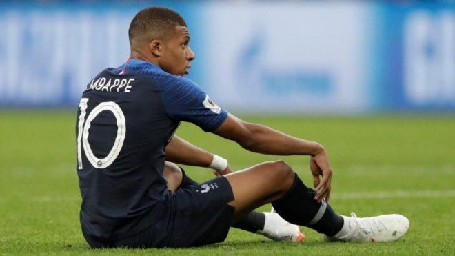 Mbappé fue una de las figuras de Francia en Rusia 2018
