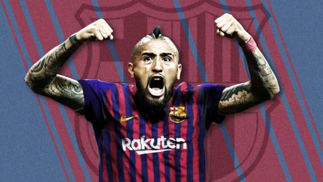Arturo Vidal jugará en el Barcelona