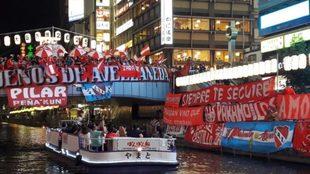 Independiente llevó mucha gente a Japón