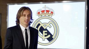 Luka Modric continuará en el Real Madrid