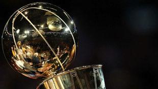 El trofeo de la NBA.