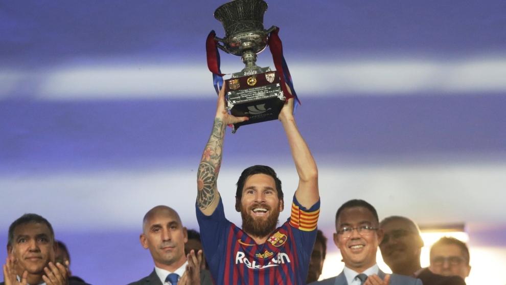 Barcelona derrotó 2-1 a Sevilla en Marruecos y se quedó con el...