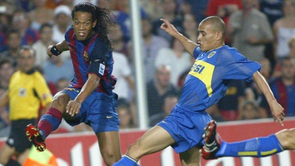 Boca y Barcelona se cruzaron cinco veces por el Trofeo Joan Gamper