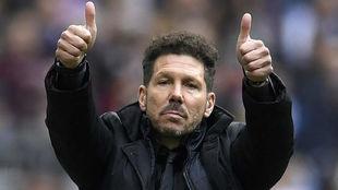 'El Cholo' y su mensaje de suerte a los entrenadores...