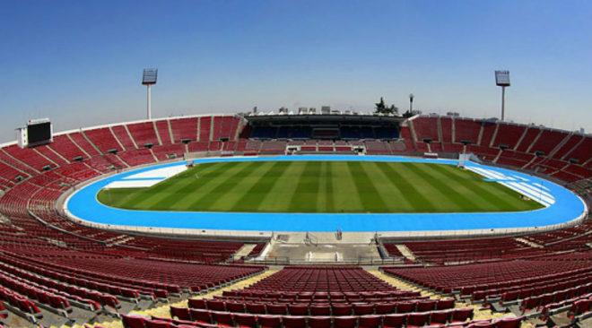 El estadio Nacional de Chile será el escenario de la final