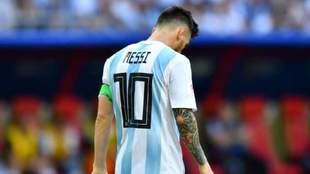 Messi no dirá presente en la Selección durante el 2018
