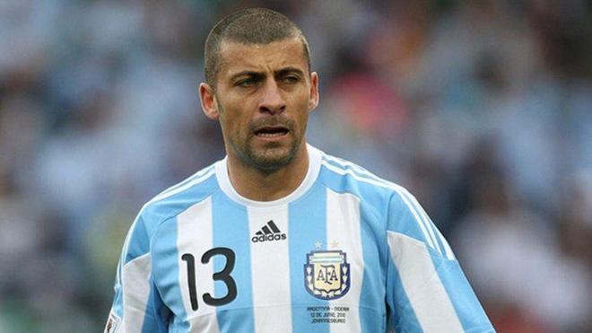 Samuel juegó el Mundial Sudáfrica 2010, además de Corea-Japón...