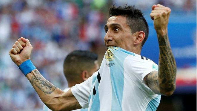 Di María no jugará más durante 2018 con la selección.