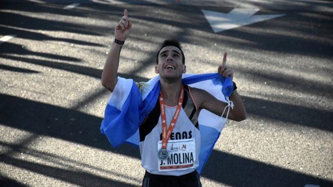 Julián Molina, el campeón argentino de media maratón