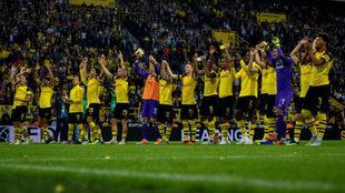 Borussia Dortmund arrancó con triunfo en la Bundesliga