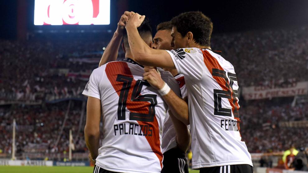 River eliminó a Racing de la Libertadores por primera vez en su...