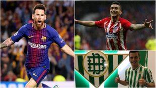 Messi, Correa y Lo Celso, estrellas argentina en LaLiga