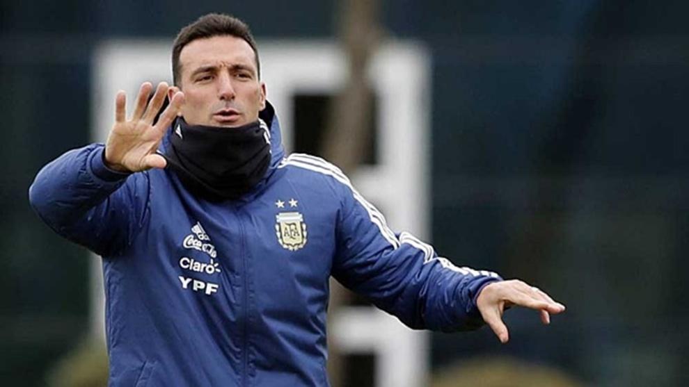 Lionel Scaloni debutará como DT de la Selección Mayor el viernes