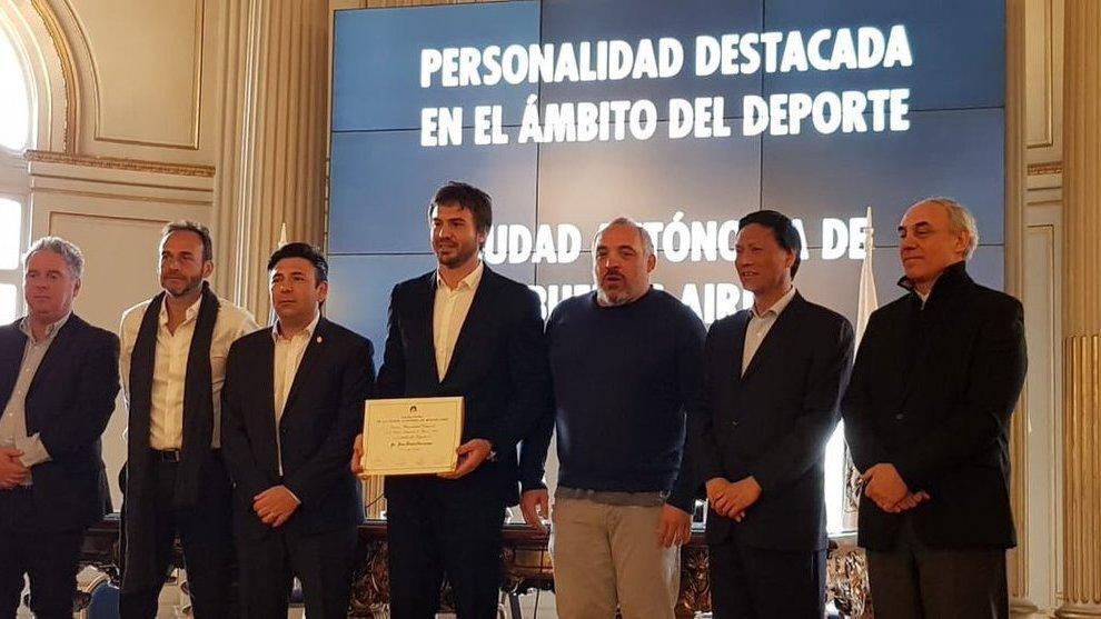 Hernández fue homenajeado por la Ciudad de Buenos Aires