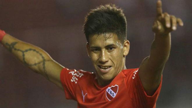 Maxi Meza, uno de los jugadores más buscados del fútbol argentino.