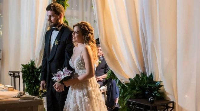 Dalma se casó en abril de este año