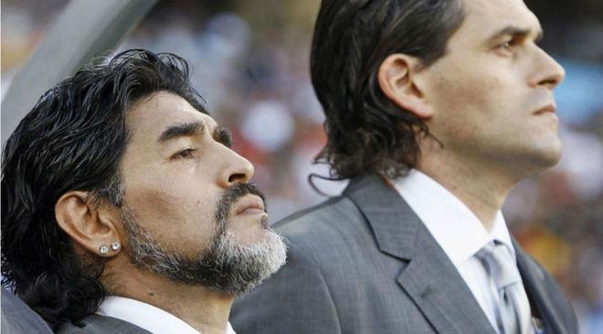 Maradona, otra vez contra Mancuso