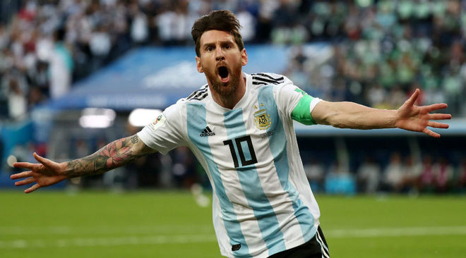 """A la espera de que vuelva Messi, nadie usará la """"10"""" argentina"""