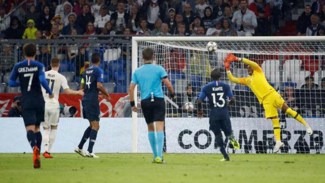 Alemania y Francia, buen duelo para empezar la Liga de Naciones