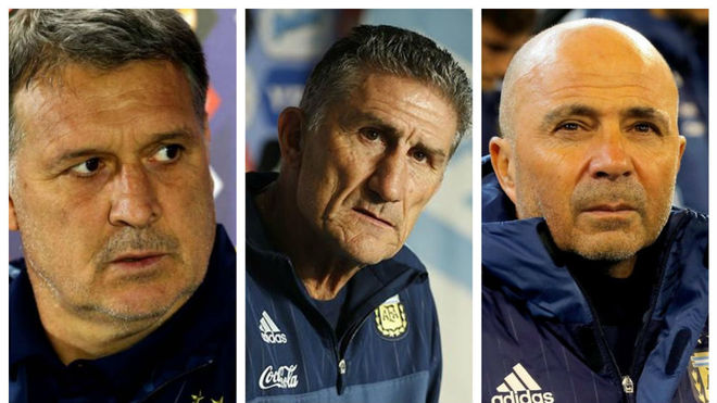Los últimos técnicos de la Selección Argentina debutaron con...