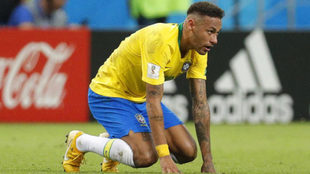 Neymar, el capitán de Brasil
