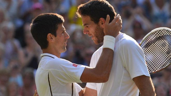 Nole y Delpo, los protagonistas de la gran final del US Open.