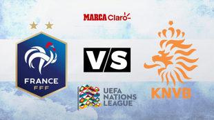 Francia vs Holanda, 15:45 horas por DirecTV