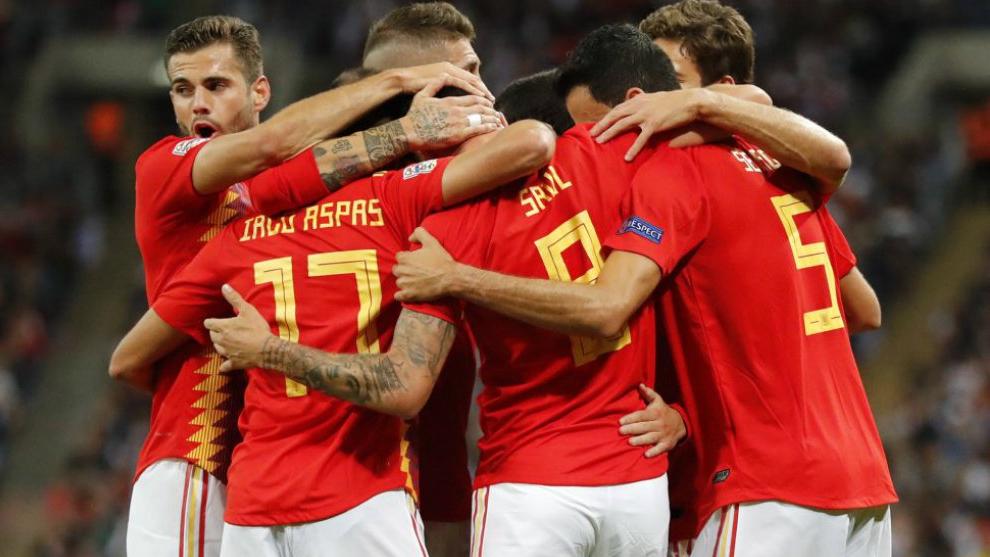 España quedó como líder de la UEFA Nation League