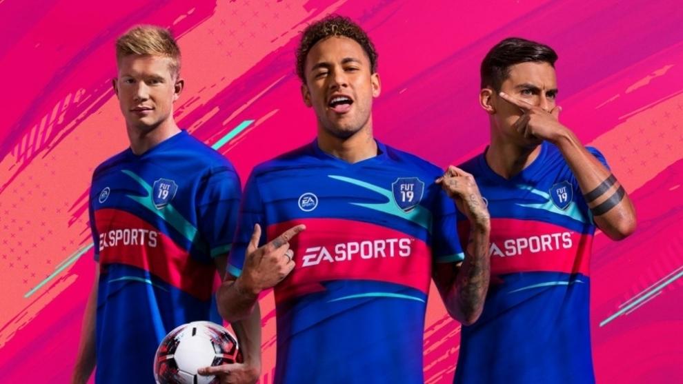 Neymar, De Bruyne y Dybala, entre los mejores futbolistas de FIFA 19