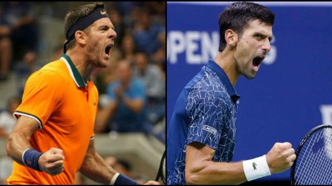 Djokovic no le dio chance a Del Potro