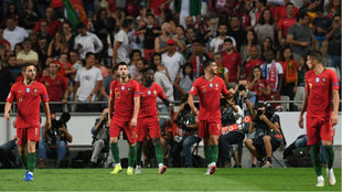 Portugal venció a Italia en la Nations League