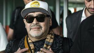 Diego Maradona fue presentado en el Dorados