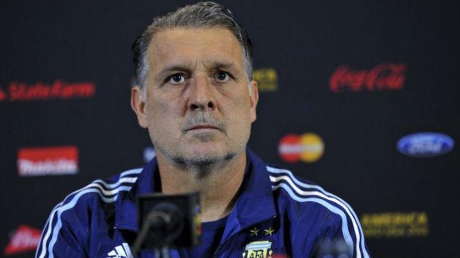 Martino, candidato a entrenador para Argentina.