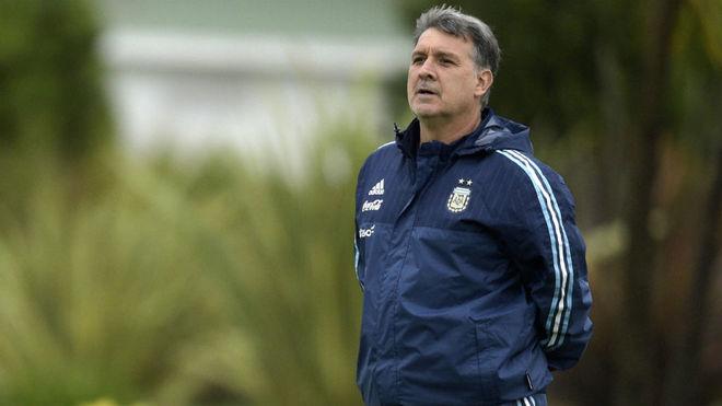 Martino reemplazó a Alejandro Sabella en 2014