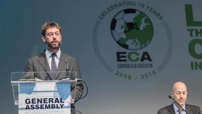 UEFA prevé una tercera competición de clubes