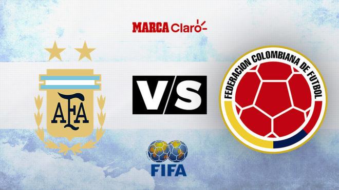 Argentina se enfrenta con Colombia en Nueva Jersey