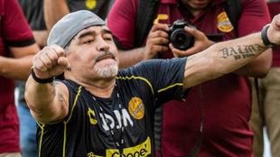 El arribo de Maradona revolucionó el fútbol mexicano